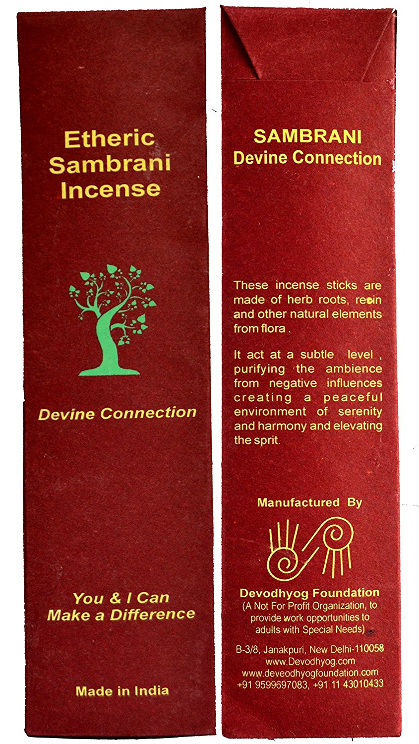 Etheric Sambrani Incense (15 sticks per pack)