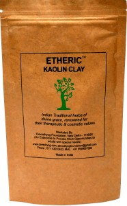 Etheric White Keolin Clay Powder (100 gm)