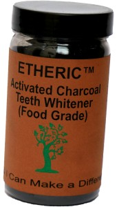 Etheric Activated Charcoal Teeth Whitener (75gm)