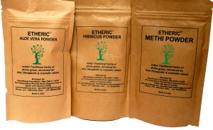 Etheric Combo Pack for Hair Conditioning (3 x 75gm)