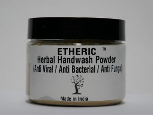 Etheric Herbal Handwash Powder (Anti Viral/ Anti Bacterial/ Anti Fungal) (75 gm)