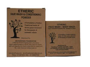 Etheric Face Wash and Hair Wash Combo
