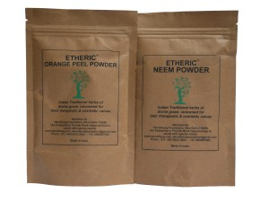 Etheric Orange Peel + Neem Powder Combo (100+100 Gms)