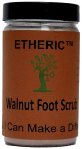 Etheric Walnut Foot Scrub (75 gm)